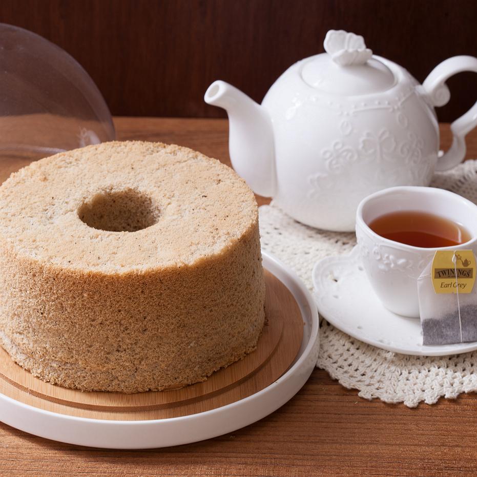 Soft Green 伯爵紅茶戚風 (七吋) 彌月蛋糕 天然 手作 無添加