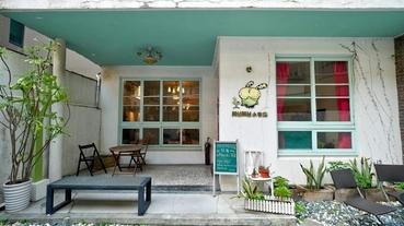 台南早午餐推薦 Mumu小客廳 中西區X老屋X黑咖哩~享受慵懶美味時刻