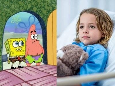 Kartun Spongebob dan Manfaatnya bagi Anak Sakit