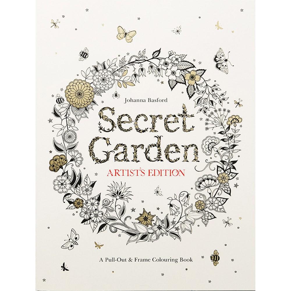 Secret Garden 祕密花園 - 手繪著色本(A4)