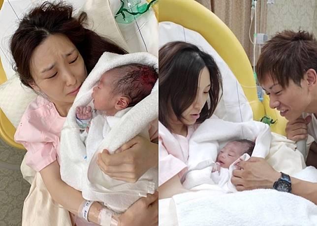 伊藤春香本月19日為清水健誕下首名男嬰。