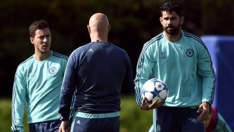Derbi Madrid: Hazard Tak Sabar Hadapi Diego Costa