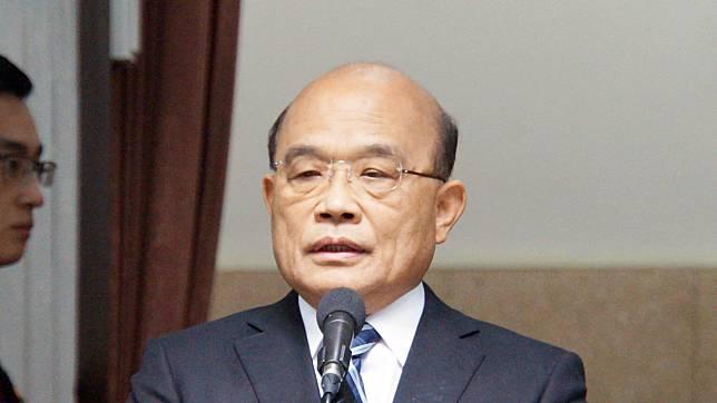 行政院長蘇貞昌。( 圖 / 記者呂炯昌攝 )
