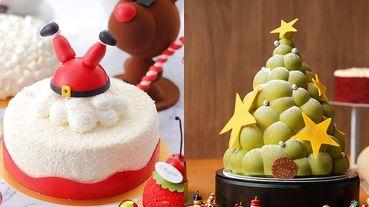 【2019耶誕甜點必吃清單TOP10】耶誕節怎麼可以沒吃到「可愛造型耶誕甜點」~會旋轉的聖誕樹巧克力、耶誕老公公倒頭栽太可愛!