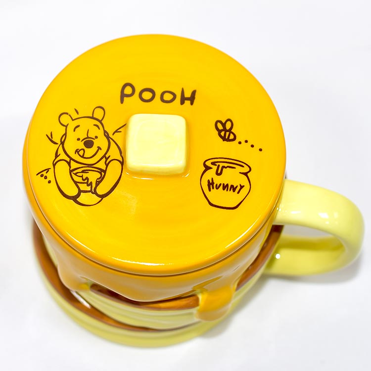 小熊維尼 蜂蜜鬆餅 含蓋 磁器 馬克杯 正版 日本進口。廚房,生活雜貨與文具用品人氣店家野馬日式雜貨的首頁有最棒的商品。快到日本NO.1的Rakuten樂天市場的安全環境中盡情網路購物,使用樂天信用卡