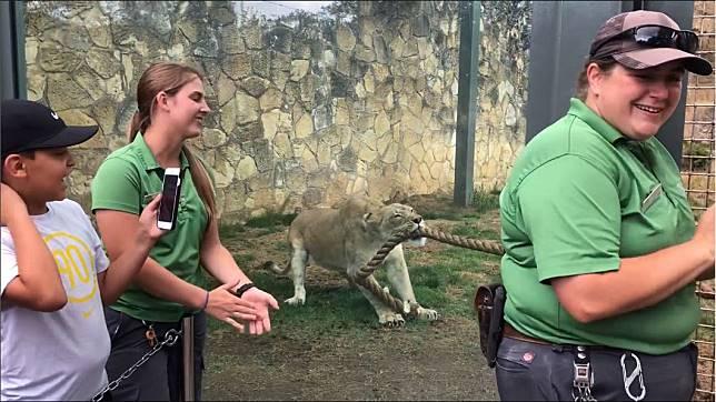 圖/翻攝自San Antonio Zoo臉書粉絲頁