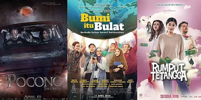 Yuk ke Bioskop! Inilah Daftar 12 Film Indonesia yang Tayang April 2019