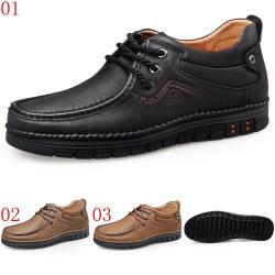 GOG高哥軟底軟面封包鞋三色可選WX888847黑/WX888848卡其/WX888849黃棕增高5.5CM口JHS杰恆社1907(預購)