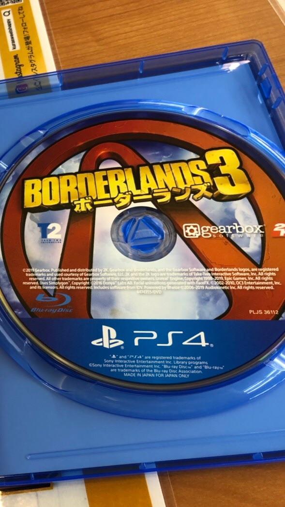 PS4版ボーダーランズ3