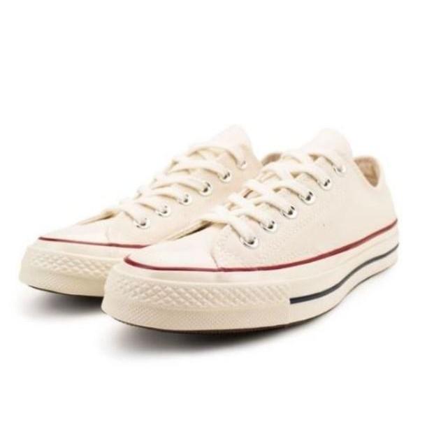 CONVERSE系列 Chuck Taylor All Star '70 男款米白色 低筒休閒鞋-NO.162062C