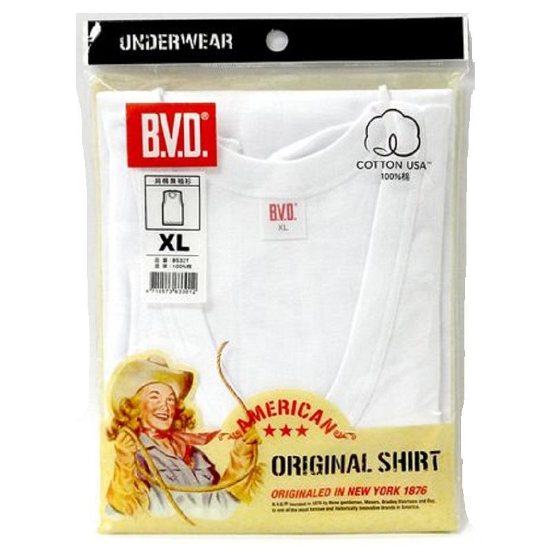 BVD純棉無袖衫