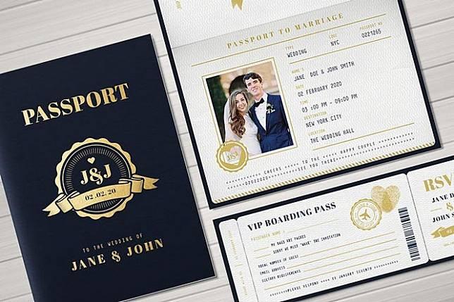 Desain Undangan Pernikahan Unik, Dibuat dari Benda Tak Biasa