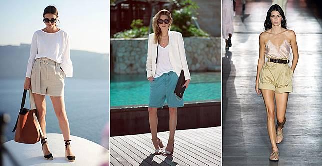 潮人都在穿的百慕達短褲,從上班穿去度假都好時髦