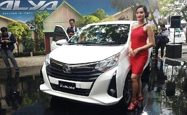 Toyota Calya minorchange meluncur, Senin 16 September 2019. TEMPO/Wira Utama