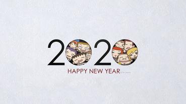 2020 1月桌布
