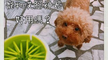 網購開箱 | 令人哀傷的寵物洗腳器