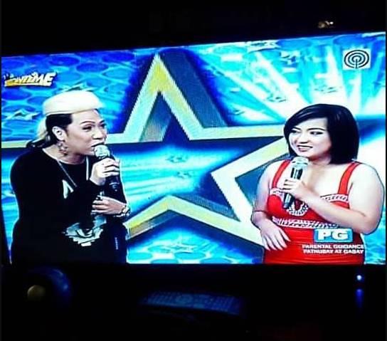 Facebook/Micah Aquino Espeleta Micah Aquino Espeleta mengikuti program TV