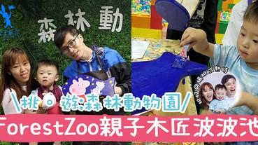 【專欄作家:桃媽@楊桃成熟時】桃。遊_森林動物園 ForestZoo親子小木匠波波池