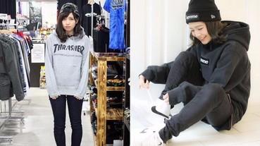 日本的「街頭風」女孩 在男生心目中的受歡迎程度直線上升!