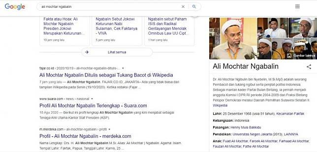 Viral Profil Ali Ngabalin Di Wikipedia Ditulis Tukang Ngibul Dan Pembacot Suara Com Line Today