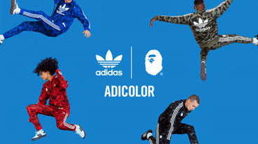 迷彩套裝 adidas Originals by A BATHING APE 秋冬連乘系列