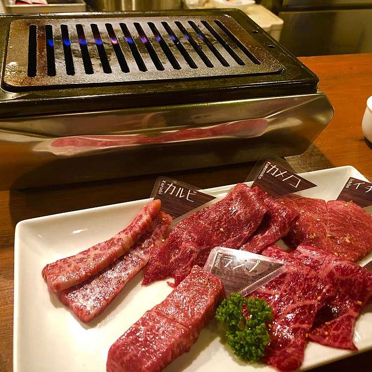 新宿区周辺で多くのユーザーに人気が高い焼肉YAKINIKU BAR ヤキニクバル NO MEAT NO LIFE 2ndの黒毛和牛盛り合わせ200gの写真