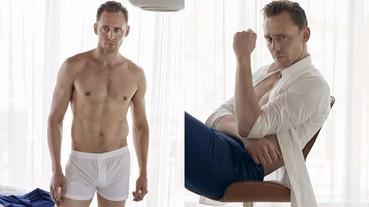 湯姆希德斯頓只穿一條內褲秀身材 再展現性感男人魅力!
