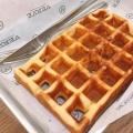 SUGAR WAFFLE - 実際訪問したユーザーが直接撮影して投稿した千駄ケ谷カフェVerve Coffee Roasters SHINJUKUの写真のメニュー情報
