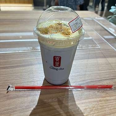 ゴンチャ ららぽーと愛知東郷店のundefinedに実際訪問訪問したユーザーunknownさんが新しく投稿した新着口コミの写真