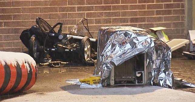 冷氣機「8樓墜下」砸死推車內2歲女童!媽目睹崩潰尖叫…