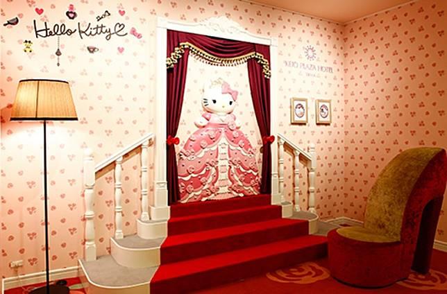 為何京王多摩酒店有咁多Hello Kitty主意?原來酒店和車站不遠處就是彩虹室內主題樂園(Sanrio Puroland)!(互聯網)