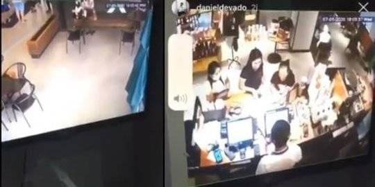 Penyebar Jadi Tersangka, Pengintip Payudara Konsumen Starbucks Masih Saksi
