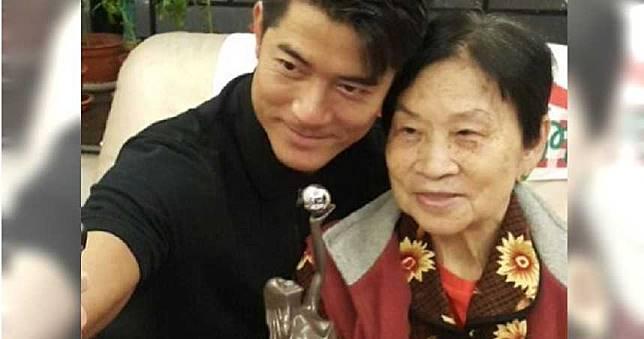 郭富城90多歲母親家中安詳離世! 天王哽咽:沒媽媽就沒我
