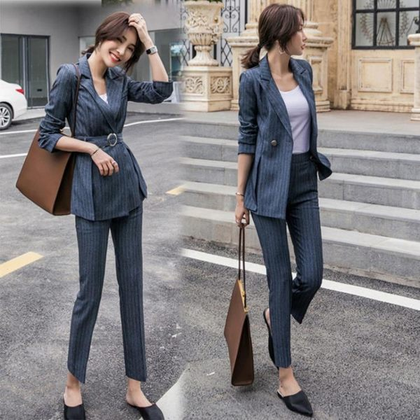 韓版女裝春裝西服OL職業套裝網紅小西裝正裝女休閒 ATF安妮塔小舖