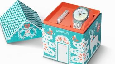 Swatch 2016聖誕節限量腕表,伴隨北極星光翩然到來