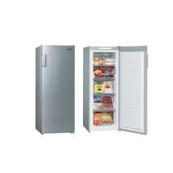 ◎電子式6段溫度控制面板 ◎後置式冷凝系統,內箱平整易清潔 ◎R600a環保冷媒商品名稱:SAMPO聲寶170L直立無霜冷凍櫃SRF-171F-庫品牌:SAMPO聲寶種類:冷凍櫃型號:SRF-171F