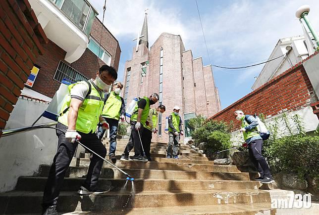 【新冠肺炎】唔戴口罩!韓宗教聚會又爆疫情  七成人無病徵