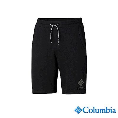 Columbia 哥倫比亞 男款-UPF50棉質短褲-黑色 UAJ07070BK