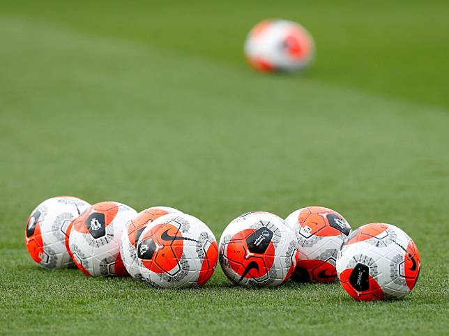 英超20間球會開會後,原則上同意下月17日恢復比賽。(路透社資料圖片)