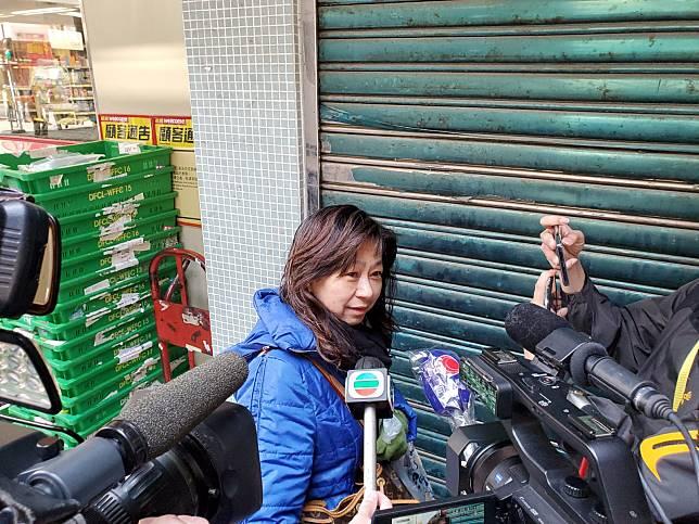 市民陳女士指,「成10日買唔到廁紙」。
