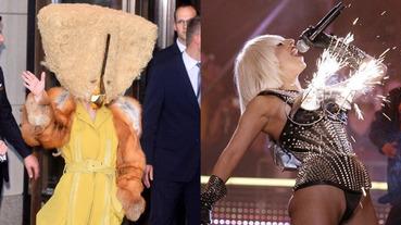 清純看膩了?浮誇女神強勢回歸!回顧 Lady Gaga 十大瘋癲造型!生牛肉裝真的算保守的了⋯