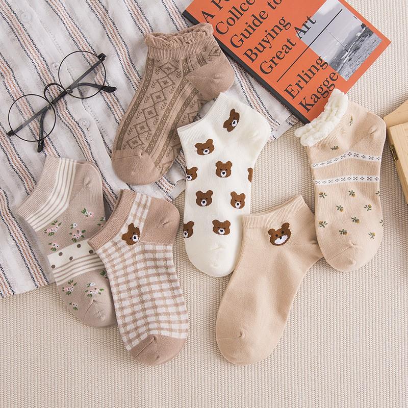 小熊短襪組(多種款式)
