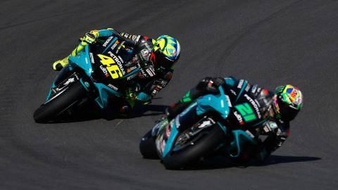 Gagal Bersaing di MotoGP Spanyol, Valentino Rossi Akui Dirinya Tak Secepat Dulu (2)