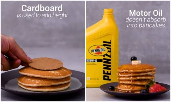 Faktanya Mengejutkan di Balik Foto Iklan Makanan