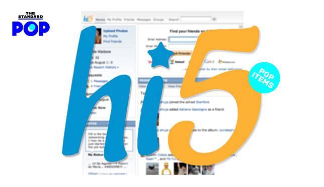 hi5 เว็บไซต์สังคมออนไลน์ยอดฮิตของหนุ่มสาวมิลเลนเนียล