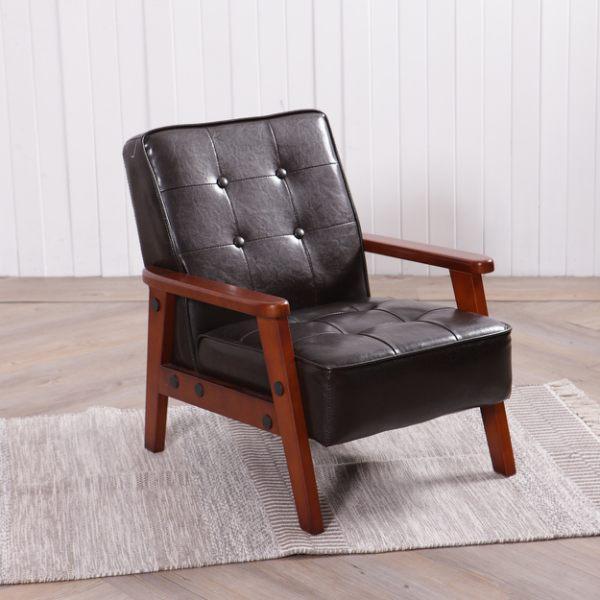 ‧ 日式極簡風格,皮革花紋清晰 ‧ 木質椅腳呈現高質感氛圍 ‧ 創造極舒適的居家環境
