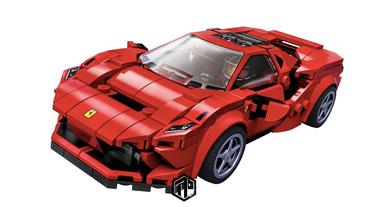 【你也可以擁有】 LEGO 推出 Ferrari F8 Tributo 積木模型!