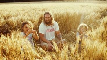 「水行俠」是柔情慈父的最佳代表!傑森摩莫亞 Instagram 大秀父子照
