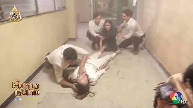 ย้อนเหตุการ์ปิ๊งรักของ เอส กันตพงศ์ - ฮาน่า ลีวิส กับเหตุการณ์เสี่ยงตายตั้งแต่เริ่ม ใน กุหลาบเกราะเพชร