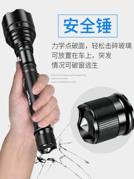 手電筒led強光手電筒可充電超亮遠射多功能1000w戶外打獵家用5000特種兵 非凡小鋪